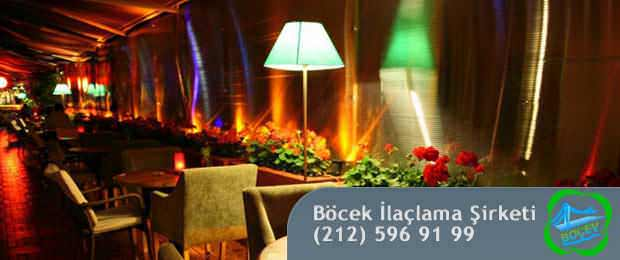 cafe ve bar ilaçlama